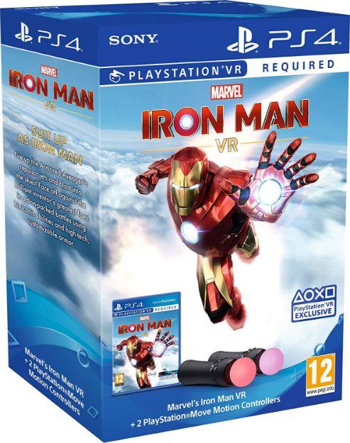 תמונה של PS4 IRON MAN VR MOVE BUNDLE