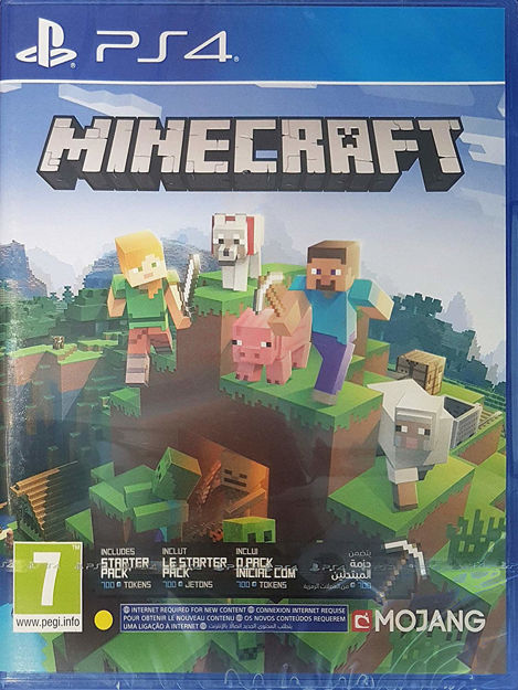 תמונה של MINECRAFT BEDROCK EDITION PS4