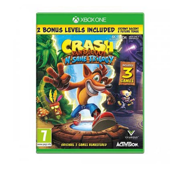 תמונה של CRASH BANDICOOT N SANE TRILOGY XBOX ONE