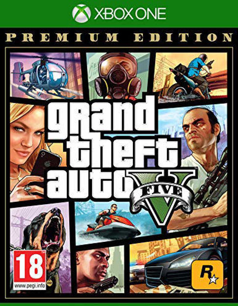 תמונה של GTA V PREMIUM EDITION XBOX ONE