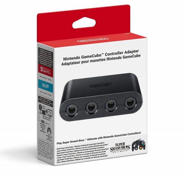 תמונה של GameCube Controller Adapter Nintendo Switch