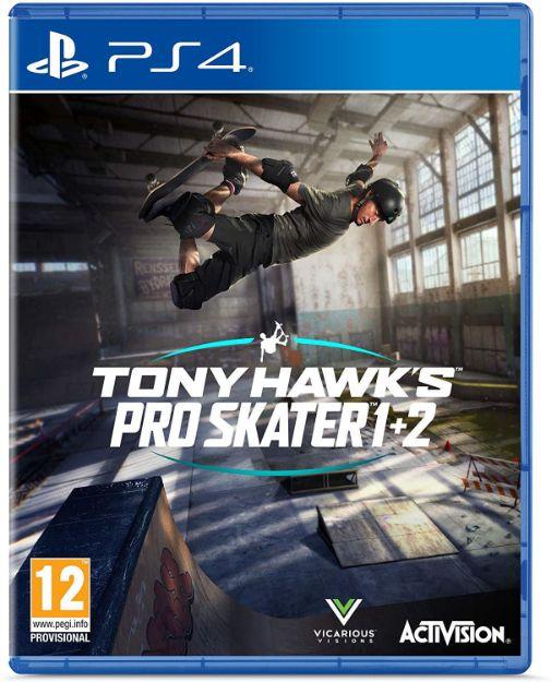 תמונה של TONY HAWK PRO SKATER 1+2 REMASTERED PS4