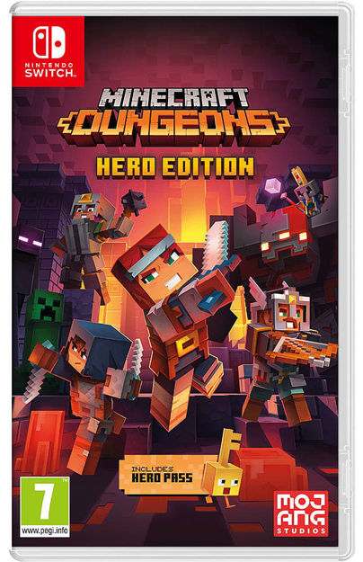 תמונה של Minecraft Dungeons Hero Edition Nintendo Switch