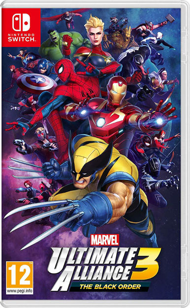 תמונה של Marvel Ultimate Alliance 3 The Black Order Nintendo SWITCH