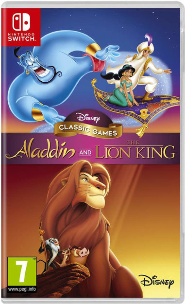 תמונה של Disney Classic Games: Aladdin and The Lion King Nintendo Switch