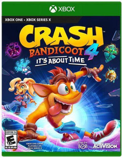 תמונה של Crash Bandicoot 4 It's About Time XBOX ONE