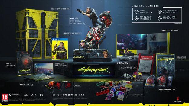 תמונה של Cyberpunk 2077 Collectors Edition XBOX ONE מכירה מוקדמת