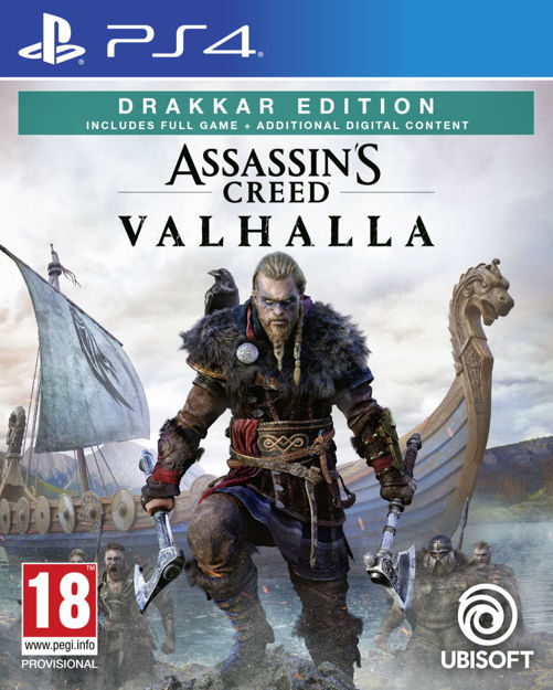 תמונה של Assassin's Creed Valhalla Drakkar Edition Ps4