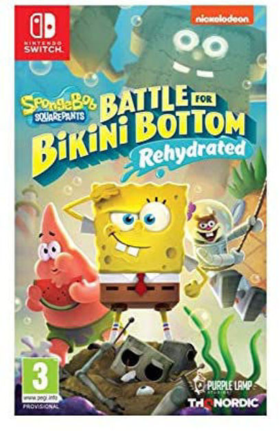 תמונה של SpongeBob SquarePants Battle for Bikini Bottom Rehydrated Nintendo Switch