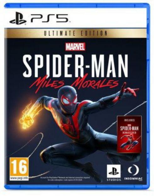 תמונה של Marvel's Spider-Man Miles Morales  Ultimate Edition PS5