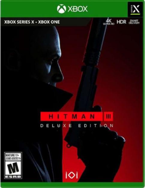 תמונה של HITMAN 3 DELUXE EDITION  XBOX