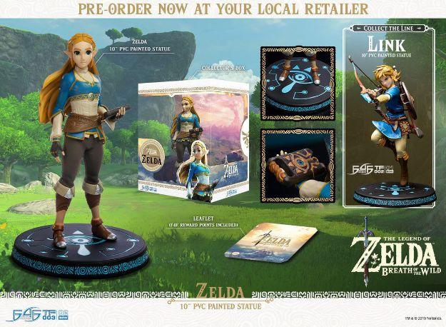 """תמונה של The Legend of Zelda: Breath of Wild - פסלון אספנות 10"""" של First4Figures -  מהדורה רגילה"""