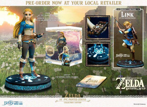 """תמונה של The Legend of Zelda: Breath of Wild - פסלון אספנות 10"""" של First4Figures -  מהדורה מיוחדת"""