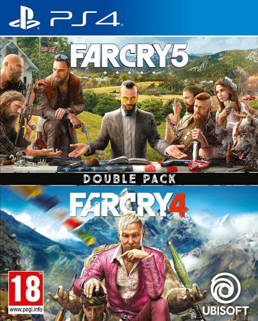 תמונה של Far cry 4 + 5 PS4